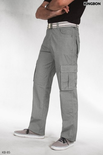 Cienkie spodnie męskie bojÓwki KINGBON KB85 104cm 10117397569 Odzież Męska Spodnie CY CIXOCY-4