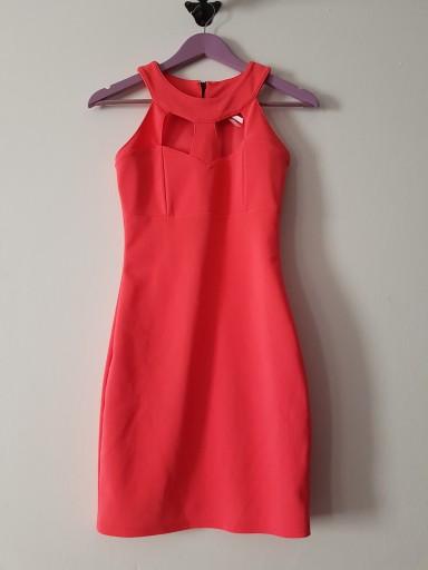 Sukienka Lipsy London neonowa 34 XS