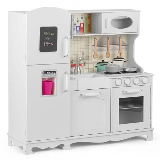Kuchnia Drewniana Dla Dzieci Duza Akcesoria 8664272996 Allegro Pl