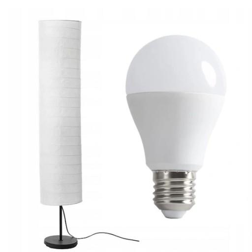 Lampa podłogowa HOLMO 116cm IKEA + zarówka LED