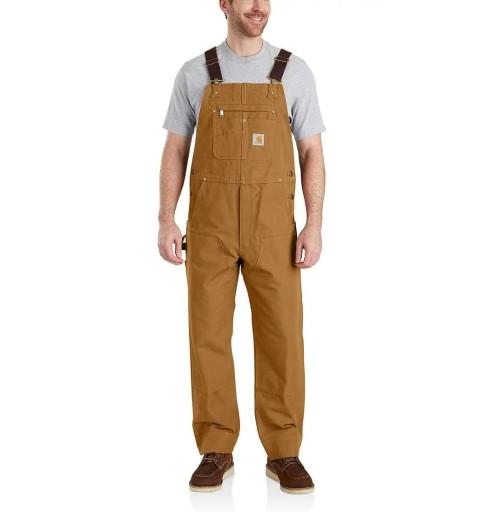 Ogrodniczki Carhartt Bib Overall Brown 38x32 10703477553 Odzież Męska Spodnie LB ULSTLB-8