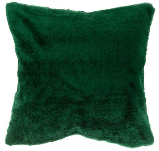 Poduszka dekoracyjna jasiek miękka 40x40cm zielona