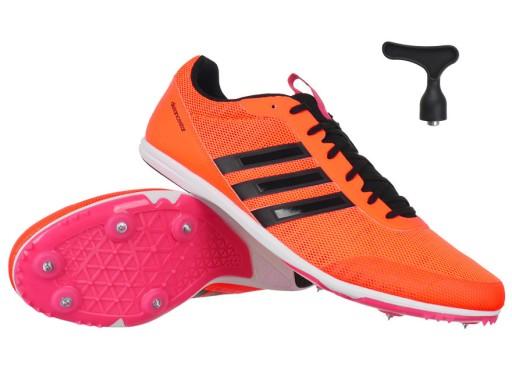 Buty do biegania Adidas, kolce lekkoatletyczne rozm 44