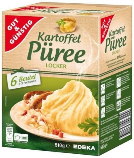 Puree Ziemniaczane 18 porcji Niemieckie DE