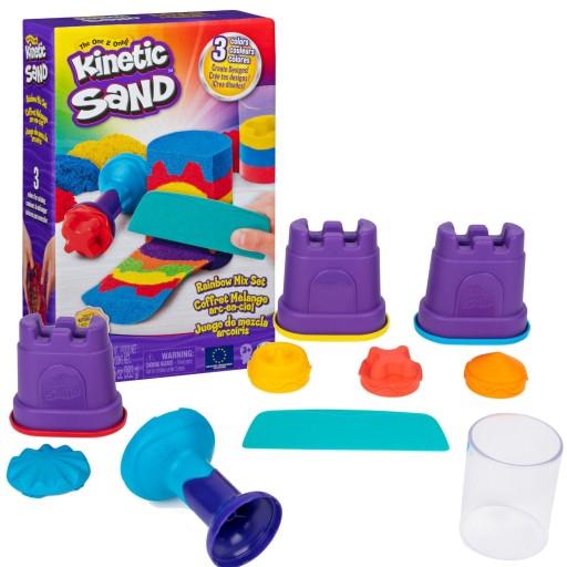 Kinetic Sand Piasek Kinetyczny Teczowy Akcesoria 9596198435 Allegro Pl