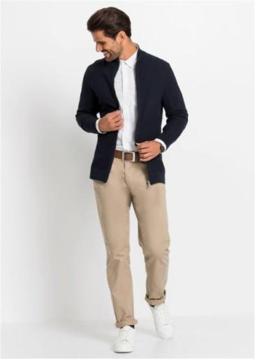 OKAZJA! BONPRIX sweter męski bpc r44/46 (S) 10102816628 Odzież Męska Swetry NW VMMWNW-6