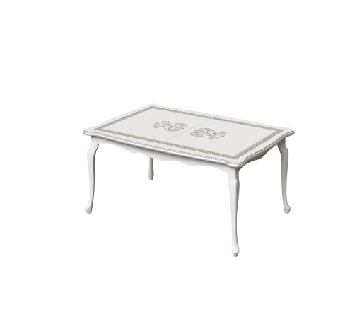 Stół rozkładany ze wzorem do jadalni 60.215