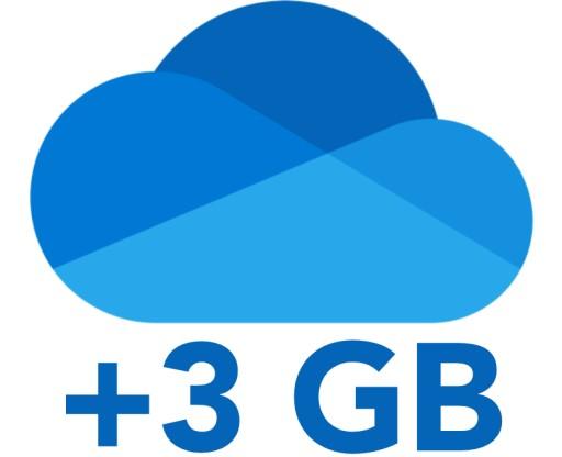 OneDrive.com 3GB DOŻYWOTNIE DOŁADOWANIE