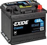EXIDE 44ah 360A Zabierzow LT DELIVERY MOUNTING
