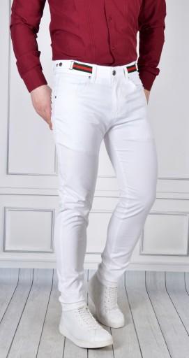 Spodnie Męskie Eleganckie Mondo Limited Casual 10463756407 Odzież Męska Spodnie IK RTQPIK-2