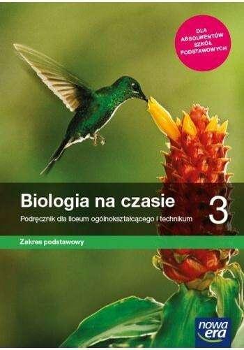 BIOLOGIA NA CZASIE 3 PODRĘCZNIK ZP Nowa Era 2021