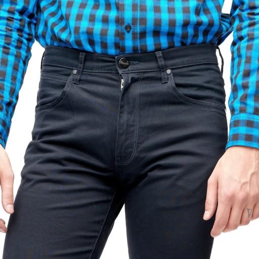 WRANGLER ARIZONA DARK NAVY W12OA1XAE 31/34 10734862722 Odzież Męska Spodnie OB ERVOOB-7