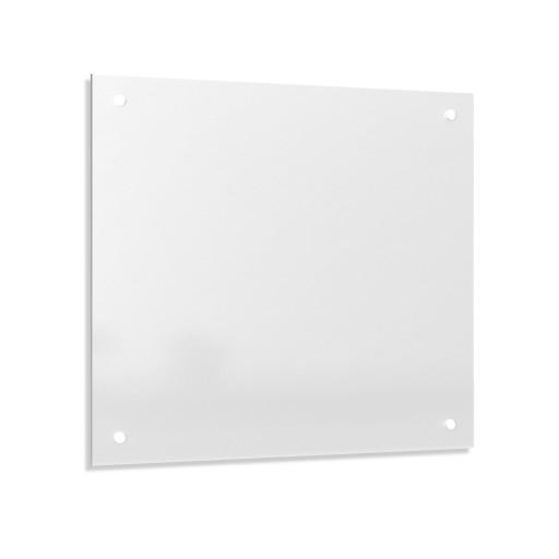 Hartowany Panel Szklany do Kuchni 50x60 Mleczny