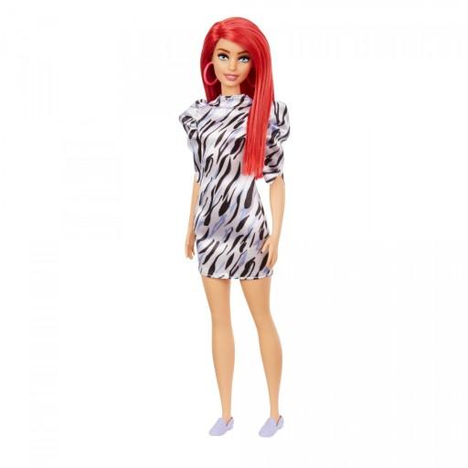 Barbie Fashionistas Modna przyjaciółka 168 zebra