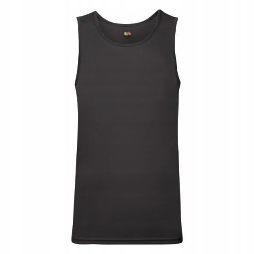 Koszulka BEZ RĘKAWÓW TOP FRUIT OF THE LOOM 10502343135 Odzież Męska Koszulki bez rękawÓw BE GHIDBE-3
