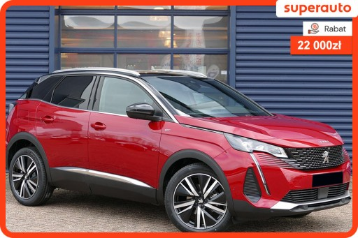 Peugeot 3008 II Crossover Facelifting  1.6 PureTech 180KM 2021