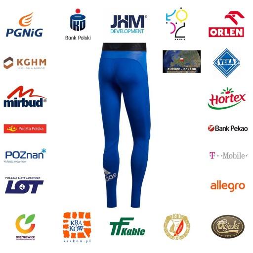 Legginsy termoaktywne adidas Alphaskin 2.0 XXL 10001917331 Odzież Męska Spodnie LB LWQRLB-4