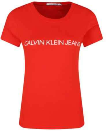 CALVIN KLEIN T-Shirt Koszulka DAMSKA J20J213127