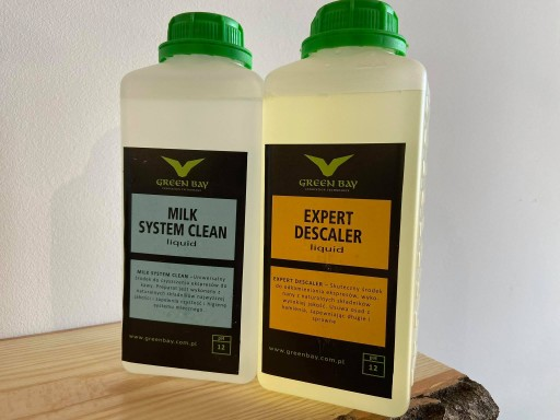 Zestaw do ekspresów - odkamieniacz i milk clean