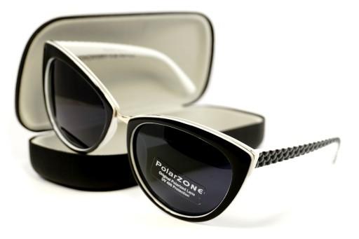 Okulary przeciwsłoneczne damskie z filtrem uv i polaryzacją