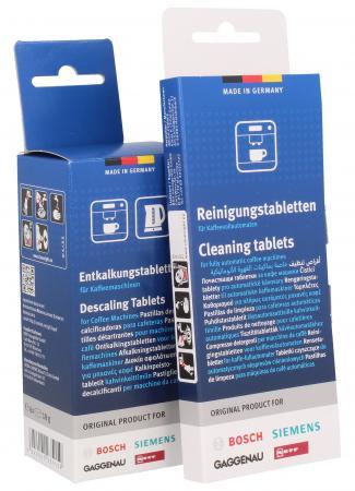 Tabletki do SIEMENS BOSCH Zestaw: TZ60001+ TZ60002