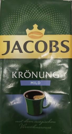 Jacobs Kronung Mild Niemiecka Kawa Mielona 9421558865 Allegro Pl