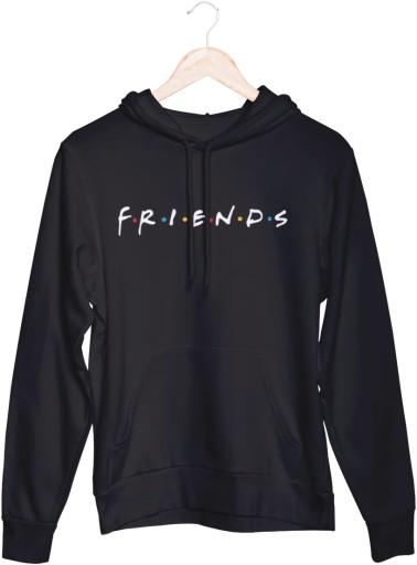 Friends Przyjaciele - Bluza damska z kapturem M