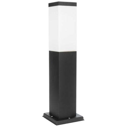 Lampa ogrodowa stojąca słupek do LED E27 45cm