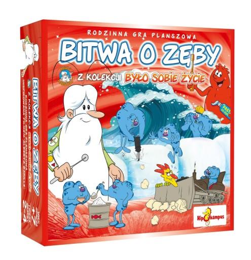 Bylo Sobie Zycie Bitwa O Zeby Gra Planszowa 9135647808 Allegro Pl