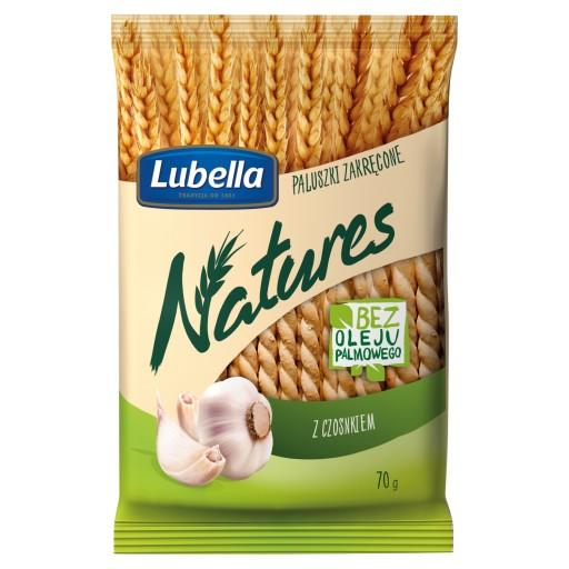 Paluszki Zakrecone Z Czosnkiem Lubella Natures 70g 9281423669 Allegro Pl