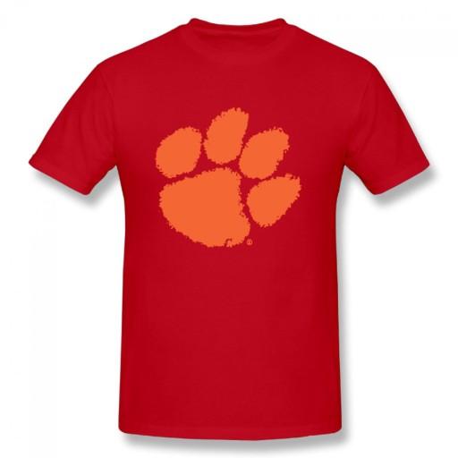 Clemson Tigers College meski podkoszulek t-shirt 10679190225 Odzież Męska T-shirty YE THYIYE-1