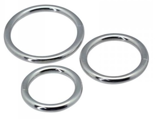 metalowe pierścienie dla penisa