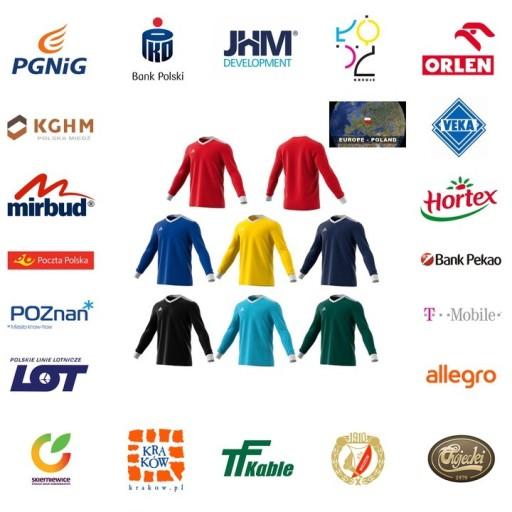 Koszulka z długim rękawem ADIDAS TABELA 18 XS 10223315457 Odzież Męska Koszulki z długim rękawem XC BSIYXC-3