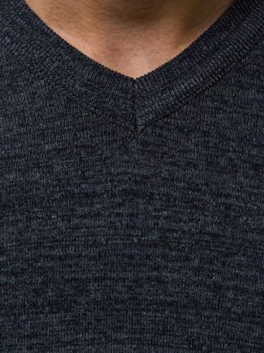 SWETER MĘSKI HR/1816 OZONEE INDIGO_ XXL 9941380548 Odzież Męska Swetry HO SEPBHO-5