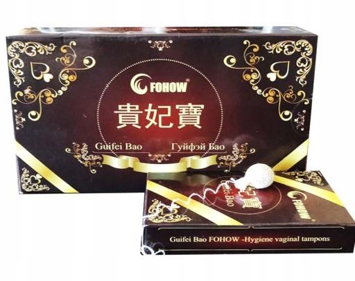 Perły księżniczki FOHOW tampony Guifei Bao +GRATIS