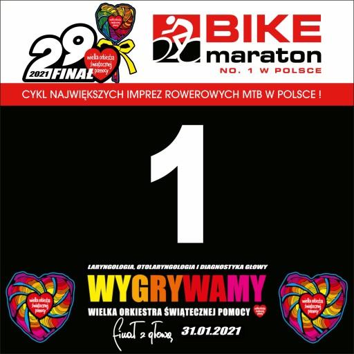 1 Nr startowy Bike Maraton 2021