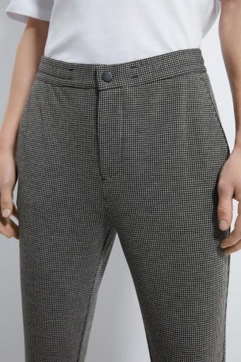 ZARA__XDX ELEGANCKIE SPODNIE W PEPITKĘ__S 10777222402 Odzież Męska Spodnie VE XHCYVE-1