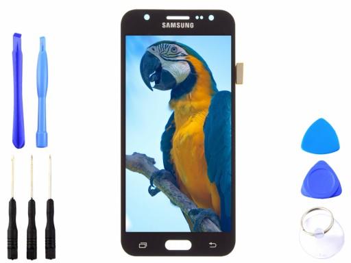 Wyświetlacz Samsung Galaxy J5 J500 czarny OLED