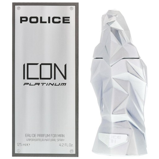 police icon platinum