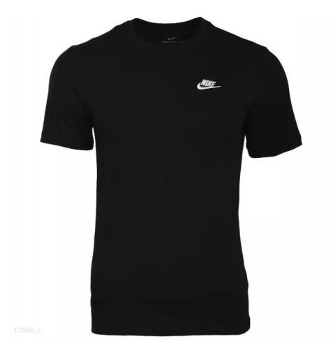 Nike Czarna koszulka z krÓtkim rękawem T-Shirt XL 10786599060 Odzież Męska T-shirty AM PXCSAM-8