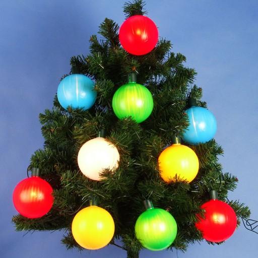 Lampki Choinkowe Led 12 Kul Zewnetrzne Duze 7641930757 Allegro Pl