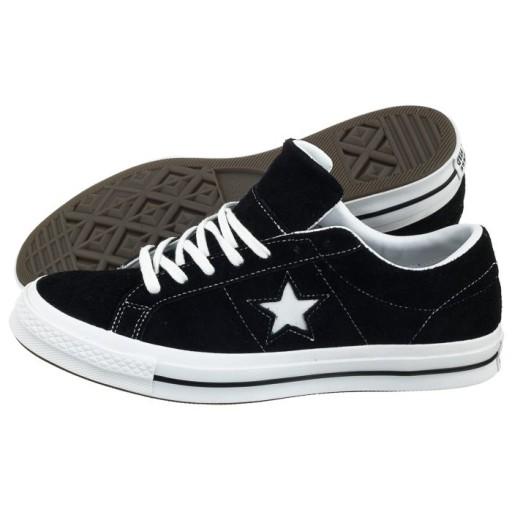 Buty Męskie Converse One Star OX 158369C Czarne 9605303067 Obuwie Męskie Męskie RX KGGURX-1