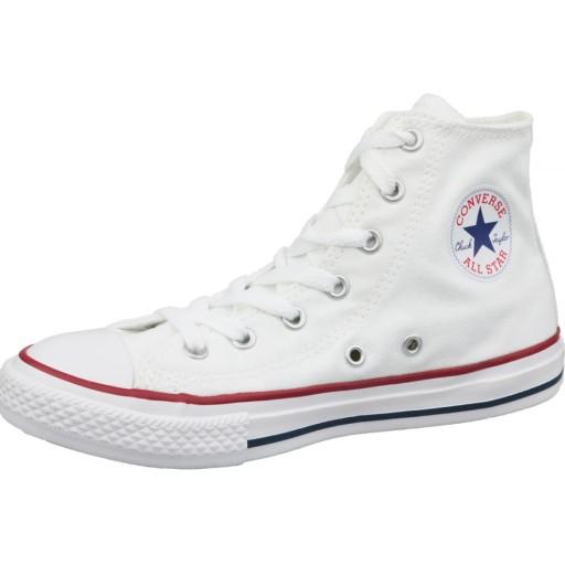 Białe Tekstylne Buty Dla dzieci Converse r.35