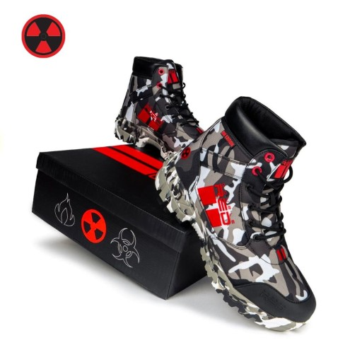 Buty Double Red BW EDITION RADIOACTIVE rozm.41
