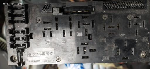THE BLOCK FUSE E W210 0025451901