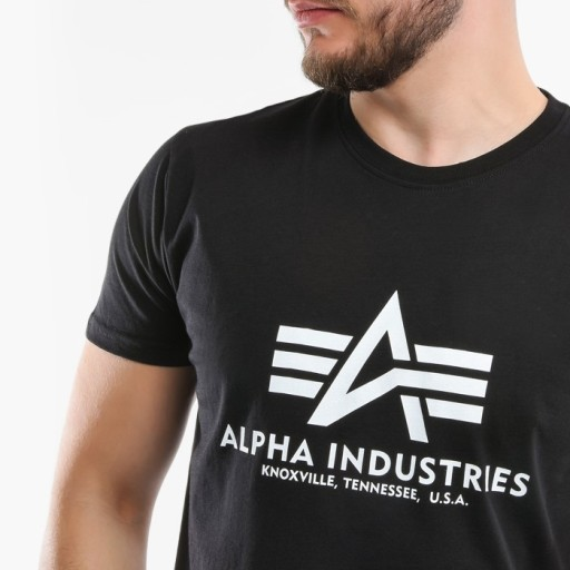 Koszulka Alpha Industries Basic 100501 03 XXL 9900562219 Odzież Męska T-shirty SI ETQWSI-7