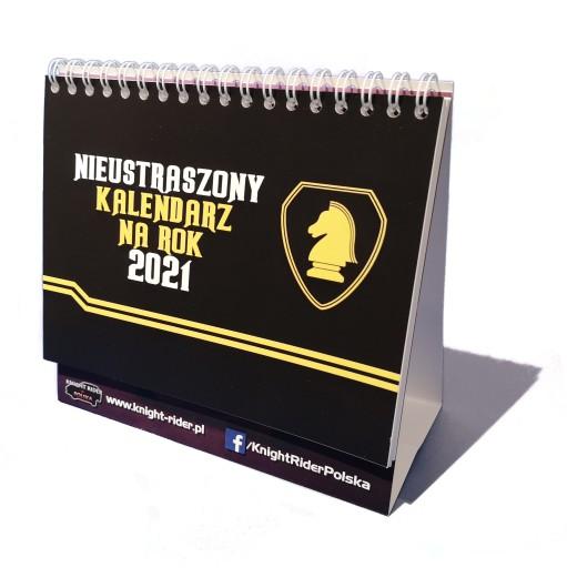Nieustraszony kalendarz od Knight Rider Polska