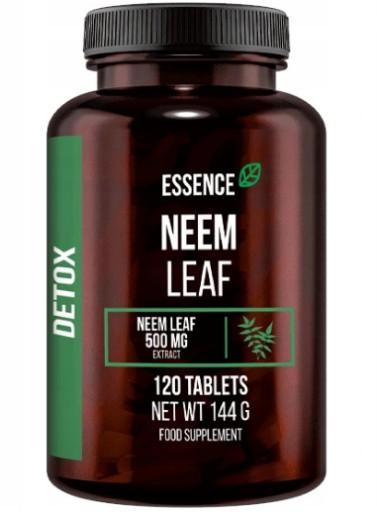 Suplement STRONG Neem Leaf 500 mg 120 kapsułek