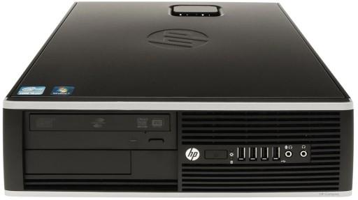 Komputer PC do Gier HP i5 8GB SSD GTX 1050Ti 4G W7