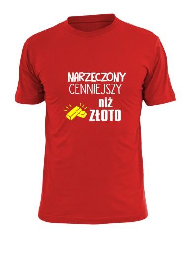 love forever koszulka z imionami dla par walentynk 9639560746 Odzież Męska T-shirty WO ENGFWO-9